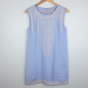 Anthropologie | Embroidered Tunic Dress